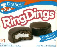 Ring Dings box of 10 larger box sizes below